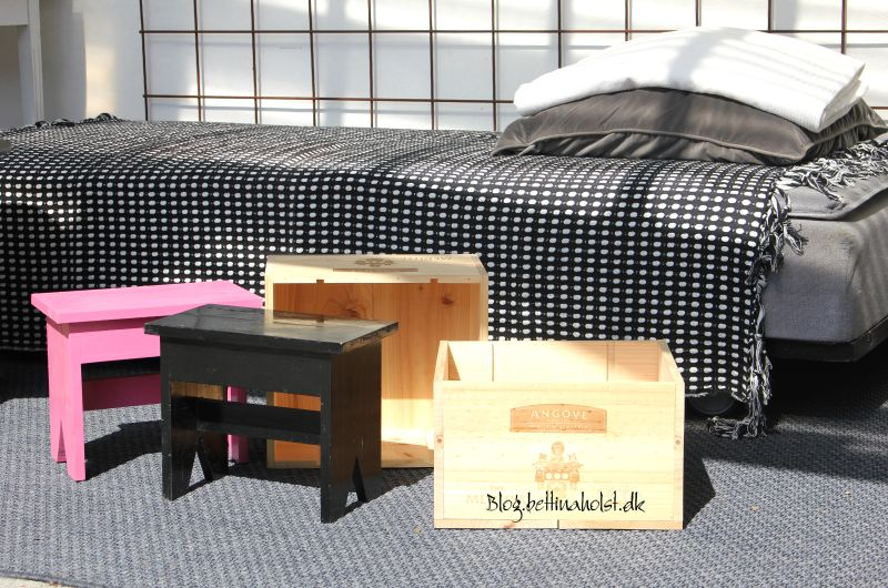Blog Bettina Holst DIY bedside tables - sengeborde 1